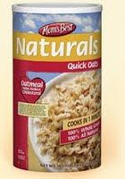 quick oats box Moms Best Oatmeal   Nearly FREE At Walmart