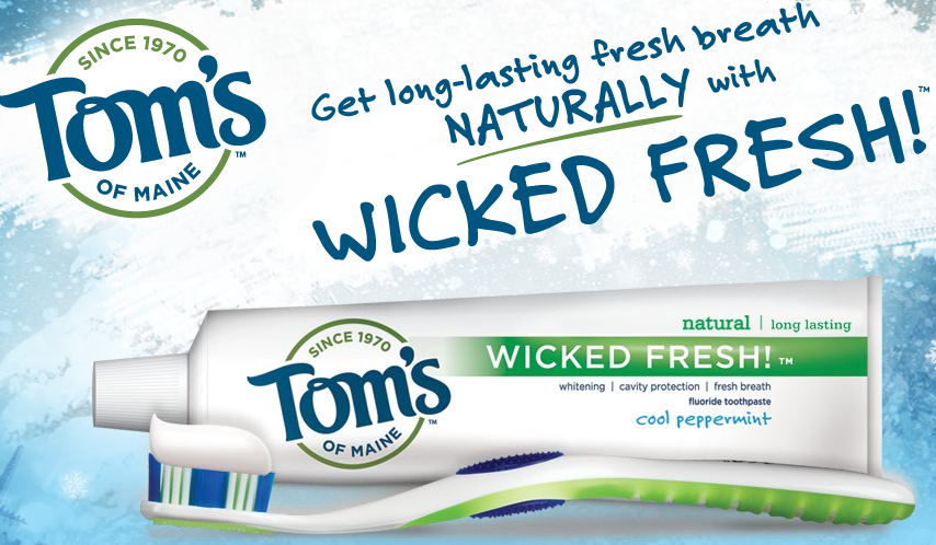 Free Sample: Tom's of Maine Toothpaste