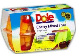 dolefruitcup 300x213 Dole Fruit Cup Rebate   2 Weeks Supply for FREE
