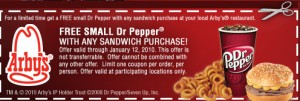 drpepp 300x101 FREE Dr. Pepper At Arbys
