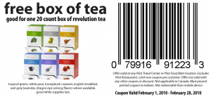 revolution2 300x138 FREE Revolution Tea: At Pilot Food Mart or Travel Centers