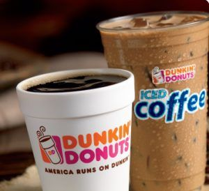 dunkinmon 300x274 Dunkin Donuts: Free Medium Hot Or Iced Coffee   Mondays In March