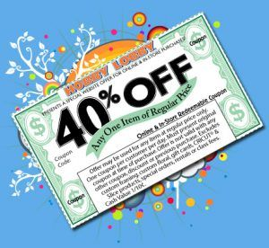 40 off coupon to hobby lobby / Sticky jewelry coupon code