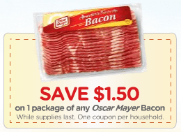 oscar mayer bacon coupon Oscar Mayer Bacon Available Again!!!: High Value Printable Coupon