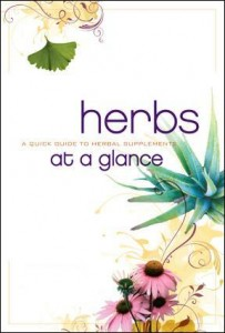 HERBS COVER 203x300 Free Herbs At A Glance Book