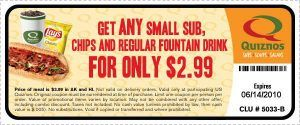 quiznosnew 300x125 Quiznos Printable Coupon: Small Sub, Chip &  Reg Drink only $2.99
