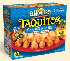 taquitos El Monterey BOGO Free Printable Coupon