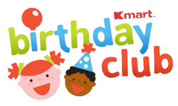 Kmart Birthday Club Celebrate your Birthday with over 100 Freebies!!!