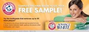 top all 300x109 Free Sample: Arm & Hammer Toothpaste