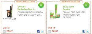RedPlumgarn 300x113 New Red Plum Printable Coupons: Garnier Fructis, Maybelline, Smuckers And More...