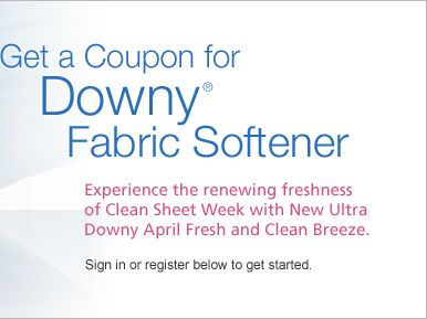 Tide with downy coupons