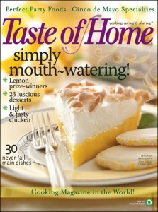 tasteofhome 223x300 Free 1 Year Subscription To Taste Of Home Magazine
