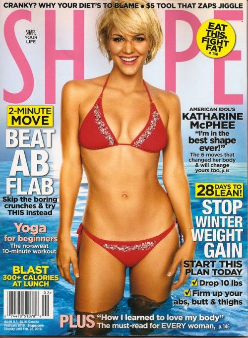 katharine mcphee shape magazine Free Subscription: Shape Magazine For 2 Years