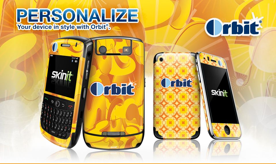 orbit Landing 959 05 01 Free Skinit From Orbit Gum and Photbucket   $14.95 Value