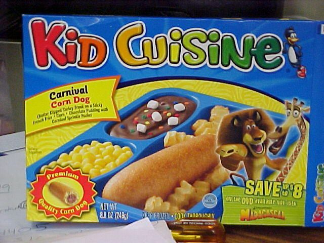 Kroger kid cuisine only 39 for Are kid cuisine meals healthy