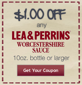 Picture 152 $1 off Lea & Perrins Worcestershire Coupon