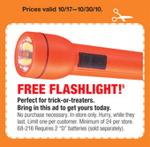 freeflash Free Flashlight At Radio Shack