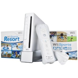 41s0uuNTmqL. AA300  Wii Console Bundle   Red, Black or White only $169.99!!