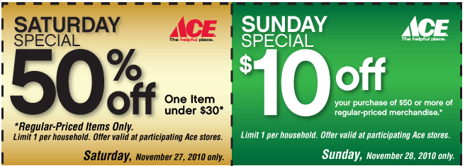 photo about Ace Hardware Printable Coupons named Ace components coupon codes printable 2018 : Ninja cafe nyc
