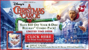 achristmas1 300x168 Disneys A Christmas Carol $10 Off Coupon   Get It For As Low As $7.96