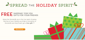 Shutterfly Free Gifts For Five Of Your Friends And Free Shipping For You