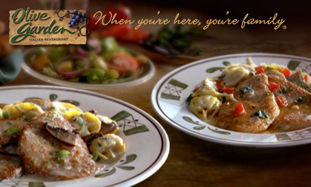 olivegarden *Rare* Olive Garden Coupon