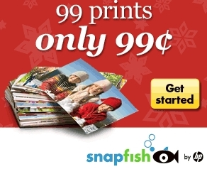 snapfish 991 Snapfish: 99¢ for 99 Photo Prints!