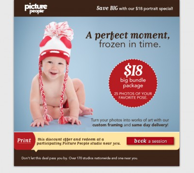 Picture People: $18 for Big Bundle Package Coupon   Mojosavings.com