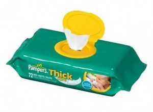 Pampers Wipes Coupon 470x346 300x220 $1 off Pampers Thick Care Wipes