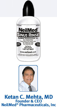 sinus rinse Free Neil Med Sinus Bottle and Packet Offer