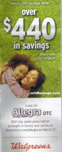March Coupon Book 122x300 Walgreens Coupon Book for March