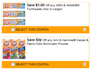 ah $23.50 in Arm & Hammer Coupons!