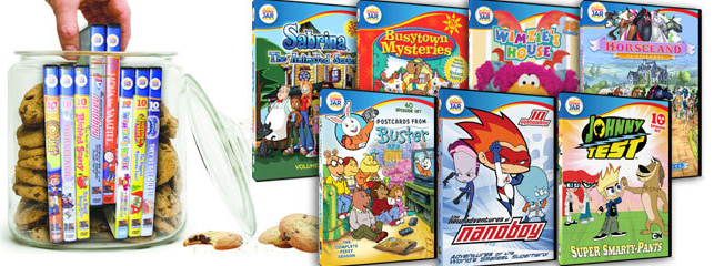 cookie jar Mamapedia: $25 Worth of Family Friendly DVDs for only $10 ($5 for First Time Buyers!)
