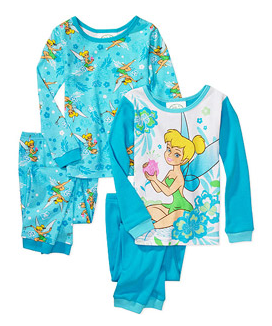 disney Walmart: Disney Girls & Boys Licensed Character Cotton PJs only $6.97 Shipped (2 sets)