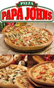 papa 183x300 Papa Johns Customer Appreciation Day: Buy One Get One Free Pizza   Today!!!!