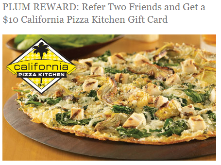 California Pizza Kitchen Gift Card Walgreens