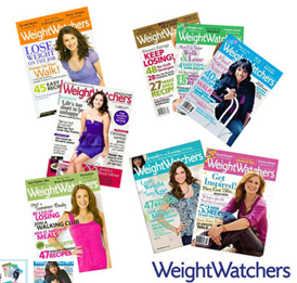 weight watchers Ready Made Magazine only $2.99/yr and Weight Watchers Magazines only $3.99/yr