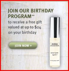 aveda Free Full Size Aveda Sample $24 Value