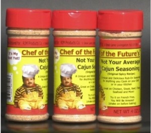 cajun seasoning 300x264 Free Sample Chef Of The Future Seasoning