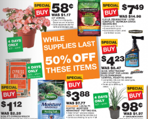 home depot ad Home Depot Black Friday Sale Prices   Mulch only $1.12!