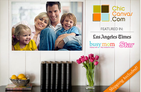 chiccanvas 16x20 Photo Canvas from ChicCanvas.com for only $32!!
