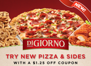 digiorno coupon and sides 300x217 New $1.25 DiGiorno Pizza & Sides Printable Coupon
