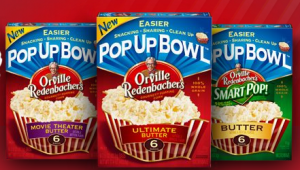 orville redenbacher pop up 300x170 Free Sample of Orville Redenbachers Pop UP Bowl