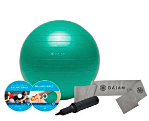 balance ball Viewpoints Funday Monday: Gaiam Total Body Balance Ball Kit