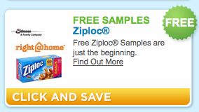 free sample ziploc Free Ziploc Brand Freezer Bags (first 2500)
