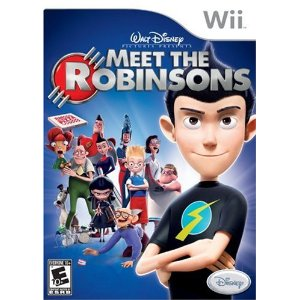 meet the robinsons Meet the Robinsons Wii Game only $4.96