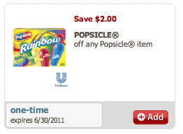 popsicle coupon Free Popsicles at Safeway!