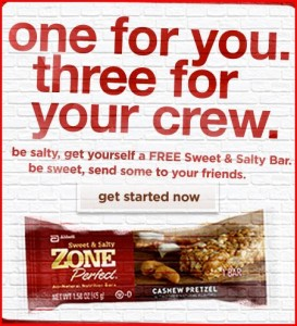 zone 273x300 Free ZonePerfect Sweet & Salty Bar