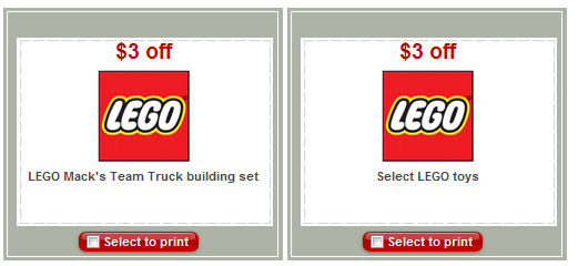 printable target coupons. set of printable coupons