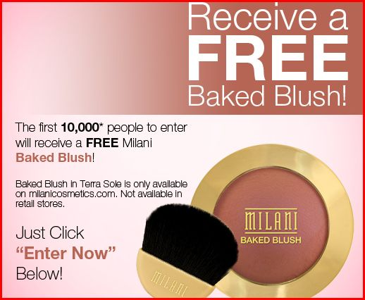 picture regarding Milani Cosmetics Printable Coupon named Totally free Milani Baked Blush
